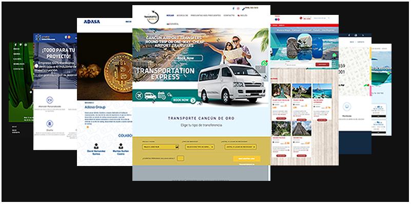 Diseño web en Cancún Exclusivo