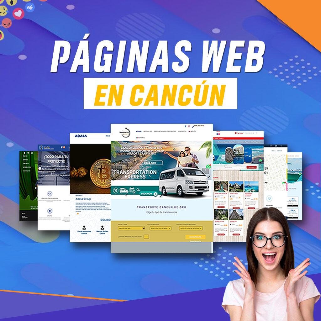 Paginas Web en Cancún