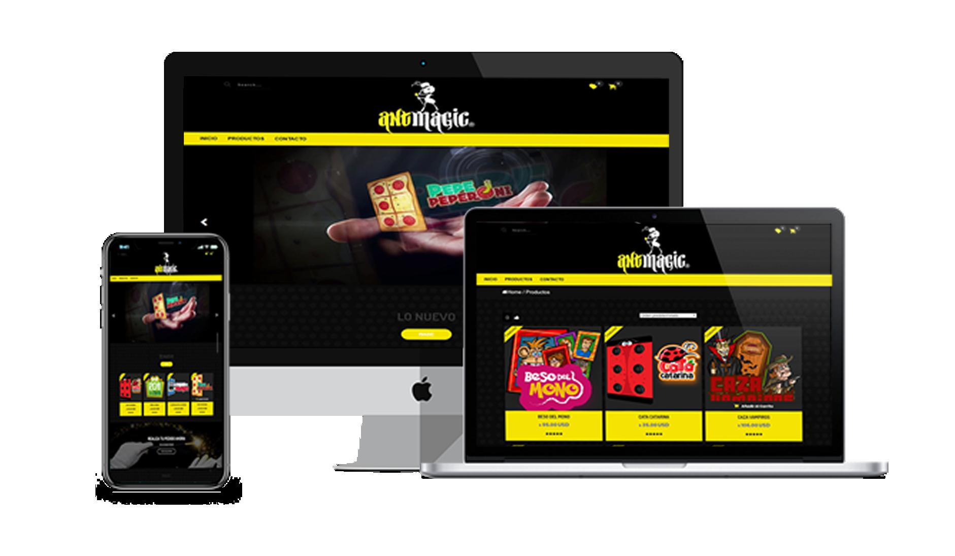 Páginas web en Cancún compatible con dispositivos moviles