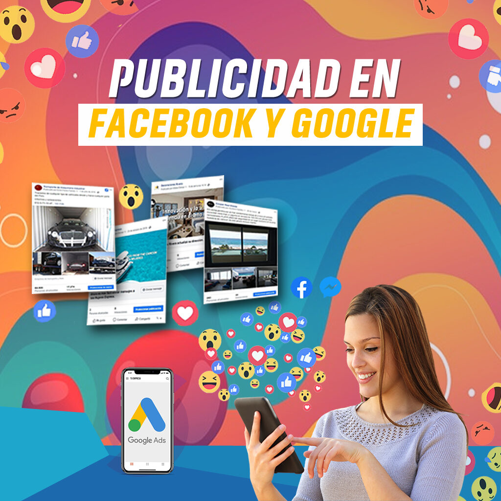 Publicidad en Facebook y en Google en Cancún